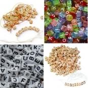 Buchstabenwürfel / Buchstabenperlen