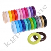 100x Holzring Mini XS ihrer Farbwahl