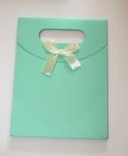 1 Geschenktüte Grün 125x165x60mm