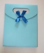 1 Geschenktüte Blau 125x165x60mm