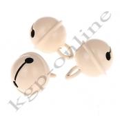 1 Glöckchen Elfenbein-Natur 15mm
