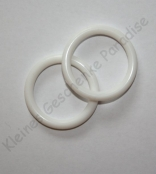 1 Mini Silikonring Weiß