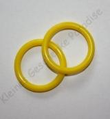 Ausverkauf  1 Mini Silikonring Gelb