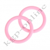 1 Mini Silikonring Babyrosa