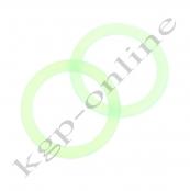 1 Mini Silikonring Grün-Transparent