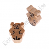 1 Mini Teddy Natur