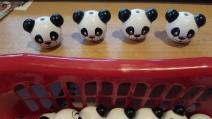1 Motivperle 3D Panda B-Ware