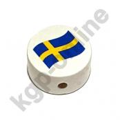 1 Motivscheibe Flagge Schweden