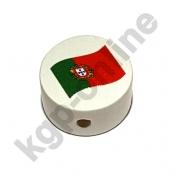 1 Motivscheibe Flagge Portugal