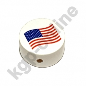 1 Motivscheibe Flagge USA
