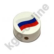 1 Motivscheibe Flagge Russland