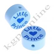 1 Scheibe Druck Little Prince Babyblau