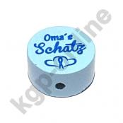 1 Scheibe Oma´s Schatz Babyblau V2