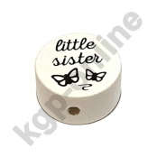 1 Scheibe little sister Weiss