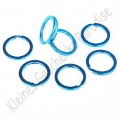 1 Schlüsselring Blau 25mm