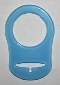 1 Silikonring Hellblau