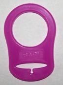 1 Silikonring Pink