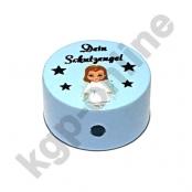 1 x Dein Schutzengel - Girl Babyblau