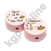 1 x Einhorn Kindergarten Rosa