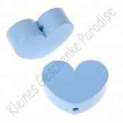 1 x Herz Groß Babyblau