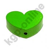 1 x Herz Groß Gelbgrün