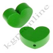1 x Herz Groß Hellgrün