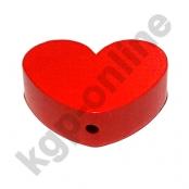 1 x Herz Groß Rot