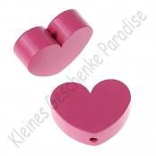 1 x Herz Groß  Pink