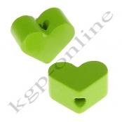 1 x Miniherz xs Apfelgrün Vertikal