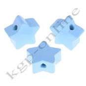1 x Stern Babyblau