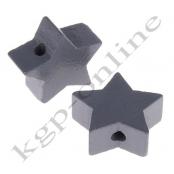 1 x Stern Grau 20mm