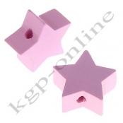 1 x Stern Rosa 20mm