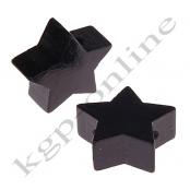1 x Stern Schwarz 20mm