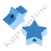 1 x Stern Skyblau 20mm
