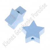 1 x Stern Babyblau 20mm