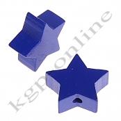 1 x Stern Dunkelblau 20mm