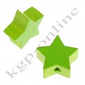 1 x Stern Gelbgrün 20mm