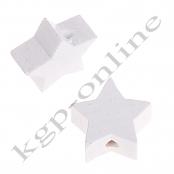 1 x Stern Weiß 20mm