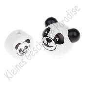 1x Set 3D Motivperle Panda und Motivscheibe Panda