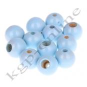 25 Sicherheitsperlen 12 mm Babyblau (20)