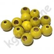 25 Sicherheitsperlen 12 mm Gelb (4)
