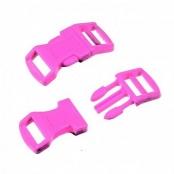 1 Klickschnalle Pink