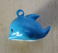 Motivglöckchen Delfin (Blau)