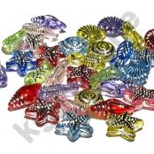 30 Kunstoff Perlen Unterwasserwelt