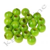 30 Sicherheitsperlen 10 mm Gelbgrün (28)