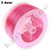5m Flechtkordel 1,5mm Pink