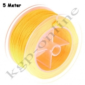 5m Flechtkordel 1,5mm Gelb