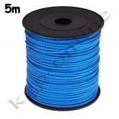 5m PP-Polyesterkordel 1,5mm Blau