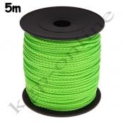 5m PP-Polyesterkordel 1,5mm Hellgrün