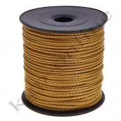 5m PP-Polyesterkordel 1,5mm  Gold